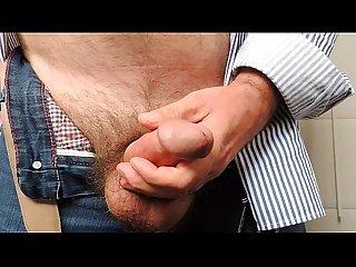 Wanking and masturbating until cumshot
