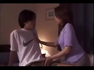 Lovley Asian Japanese mom gets fuck from son