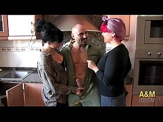 Two housewives and the complacent plumber. With Nadia, May and Bryan.
