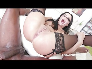Double anal rough sex with daphne klyde 2on1 bbc squirting like crazy
