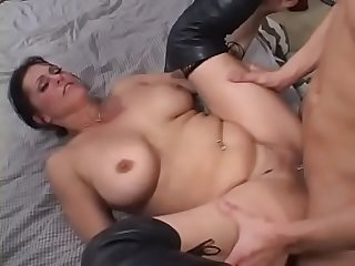 Sweet awakening with Blowjob by stepmother num 2