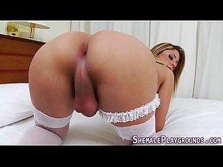 Spunky shemale fuck raw