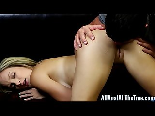 Teen taylor dare gets ass filled with cum