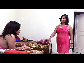 DESI HOT TWO BHABHI MEET AND DOING HOT LESBIAN SEX.
