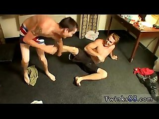 Sexy usher in gay porn Kelly & Grant - Undie Wrestle