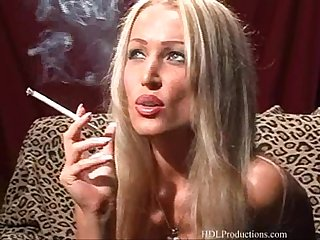 Diana doll smoking fetish at dragginladies