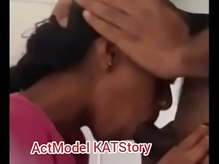 mouth blowjob fuckd his wife 's sister college girl inside bathroom (ActModel KATStory)