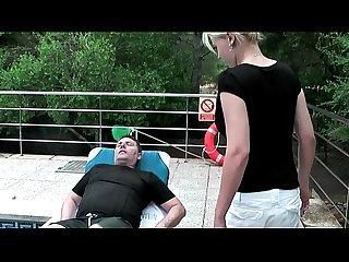Petra und heinz ficken am pool im urlaub