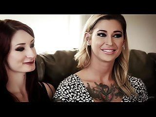 Lesbian Couple in adult industry violet monroe comma kleio valentien