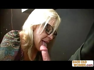 Hot gilf suck young cock