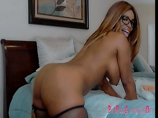 Busty big booty nyla storm fucks her toys bounce her butt for her Webcam lover