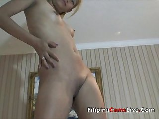 Blonde Asian Webcam Model Asiancamslive.com Philippines hotel