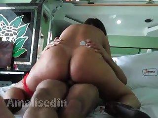 Amalisedin do sexlog sentando na cara de tanline