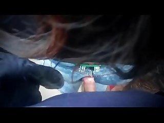 Ricos arrrimones en morritas sobre su culo, manos y venidas en su cabello || Video..