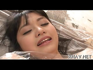 Soapy wet and dirty oriental wench