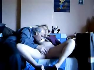 Horny granny fingered amateur older