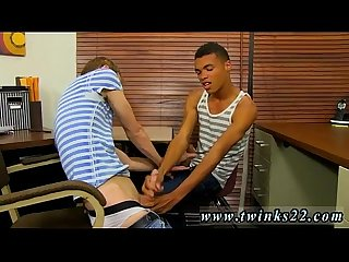 Cute sexy white gay twink first time they kick things off with some