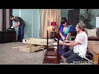 Brazzers very helping hands scene