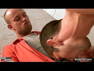 Hottie gays fucking in the prison