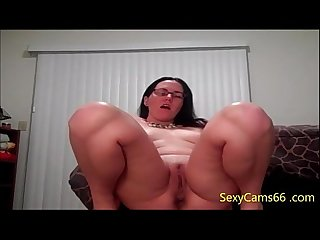 Cock hungry teacher talking dirty and rubbing wet cunt