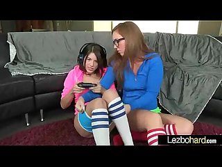 Lesbian sex scene action with gorgeous girls video 17