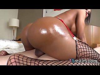 Busty Tgirl Andressa Lyra Craves Anal Sex