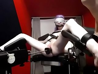 www.girls4cock.com/Siswet19 � Sisters girl bdsm gets machine , tasty..