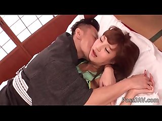 Asian Anna anjo enjoys hunk fucking her brains out