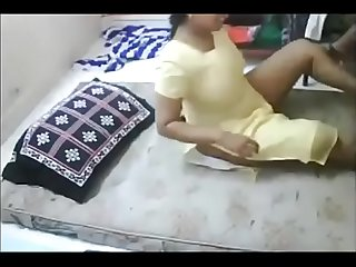 Indian Homely Girl play boy friend