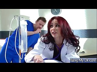 Hard sex tape with dirty doctor and slut patient monique alexander clip 22