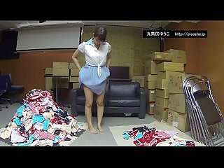 Japanese idol marukajiriyuko panties hiddencam