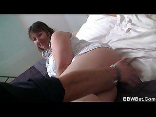 Bbw lets him have her