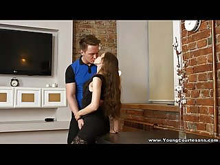 Young Courtesans - Teeny Stefanie loves to please teen porn