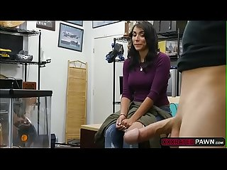 Horny pawnman fucks beautiful jessi in the office