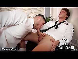 Jacob Peterson and Paul Canon - Fleet Week Part 2 - Drill My Hole - Trailer preview - Men.com