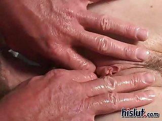 Elizabeth gets fucked hard