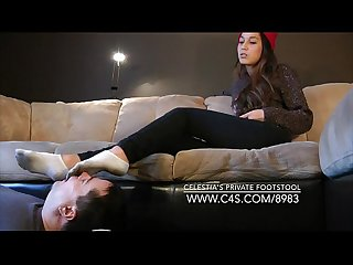 Celestia's Private Footstool - www.clips4sale.com/8983/15600640