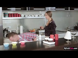 Stepmom Sensual Jane and Nora both fucked by Noras boyfriend