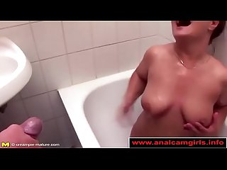 Real mature mom gets hard anal sex analcamgirls info