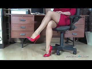 Milf Secretary in a Pantyhose