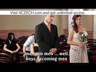 Czech porn wedding with orgy