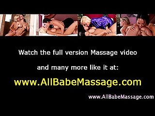 Sexy fetish babe masseuse