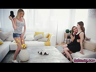 Brett rossi inserts herself into the lesbian sex scene