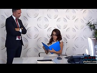 Tax audit of busty office MILF McKenzie Lee turns into sex