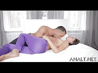 Stretching beautys taut anal canal