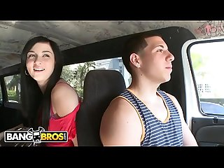 Bangbros chonga babe with cute latin face gets fucked on the bang bus