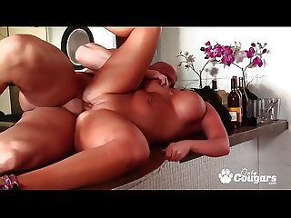 Richelle Ryan Rides On A Hard Dick Doggystyle