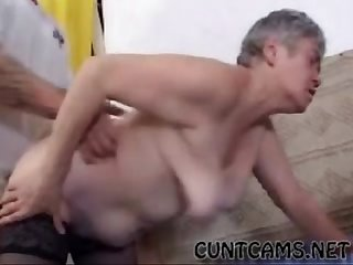 Granny gets fucked by mailman more at cuntcams net