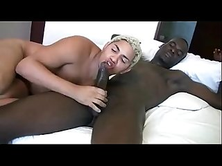 Interracial Fucking And Cum Swallow