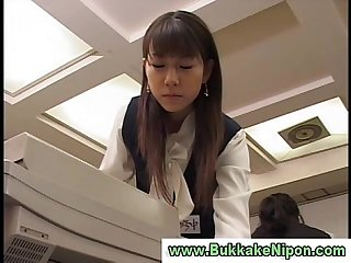 Amateur japanese teen sucks cock and eats cum from her pantyhose